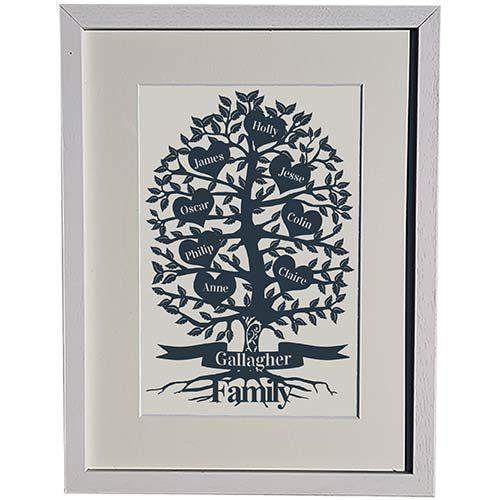 Scatterd Hearts Family Tree