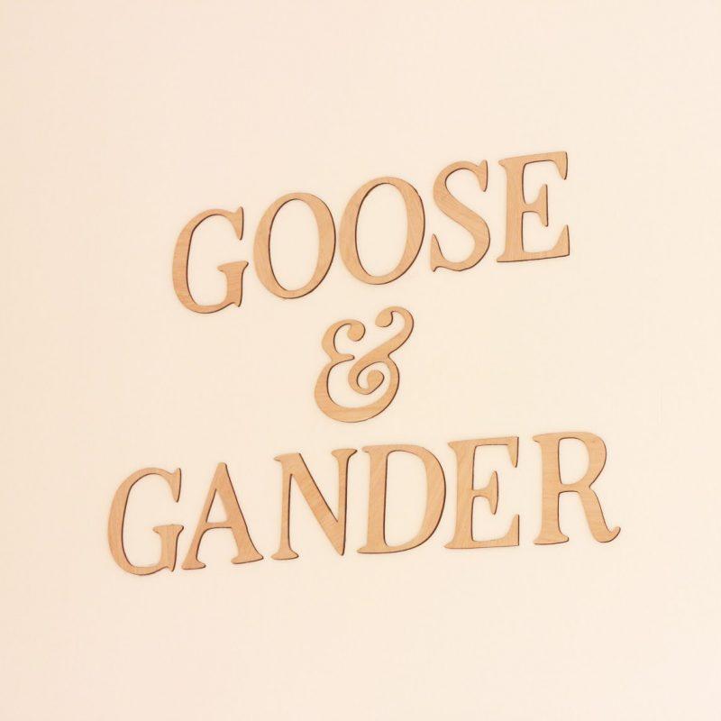 Goose & Gander
